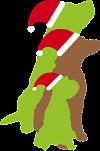 Die Bunte Hundescheune, Hunde Weihnachten