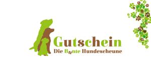 """Gutschein """"Die Bunte Hundescheune"""""""